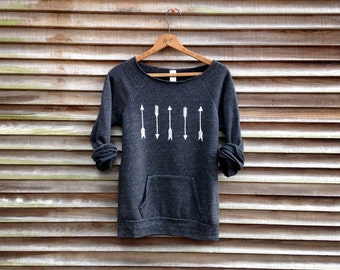 one way or another Arrows Sweater, Boho Top and Gift for a Girlfriend