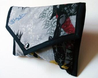 Grey Batman Pouch - Made to Order - Kezbirdie