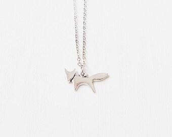 Silver Fox Necklace | Boho Jewelry | Cute | Gift | BFF | Best Friend | SALE