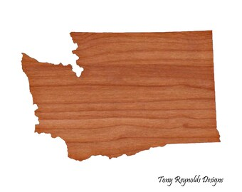 Chopping Block, Custom Cutting Board, Washington Cutting Board, Custom Cheese Board, Personalized Cutting Boards,  Wood Cutting Board