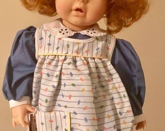 Vintage Gotz Red Hair Doll