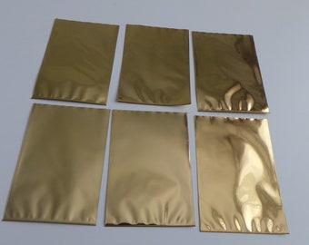 6 Golden paper bag