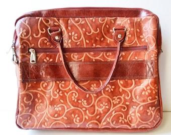goatskin bag vintage