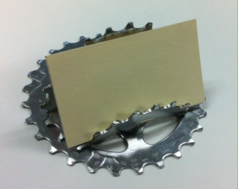 Bicycle Gear Business Card Holder
