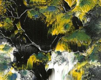 Night Fall Abstract Acrylic Painting