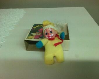Mini Bean matchbox Doll - Pagliaccio