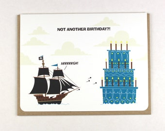 Arrrgh! Birthdays!