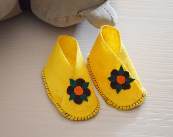 Newborn Floral Shoes
