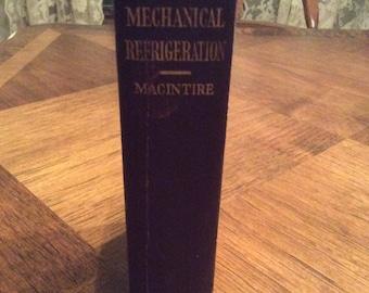 1928 Handbook of Mechanical Refrigeration
