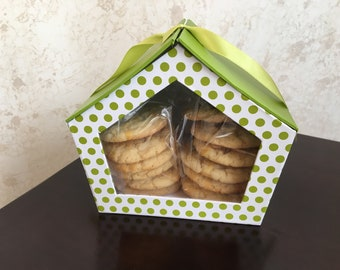 Cookie Gift Set, Thank You Gift, Birthday, Thinking of You Gift, Edible Food Gift, Cookies, Birthday, Homemade Baked Goods, Boxed Gift Set