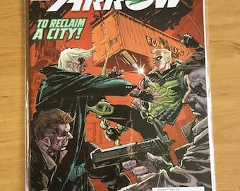 Green arrow new 52 #16 2013 nocenti reclaim city