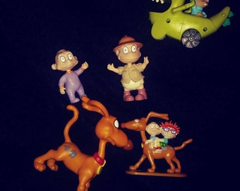 Lot of 5 Rugrats toys 90s Nickelodeon