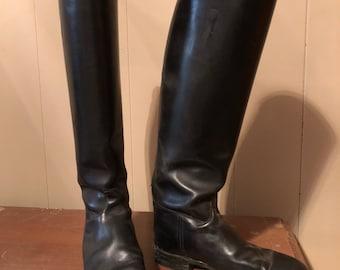 English riding boot size 9
