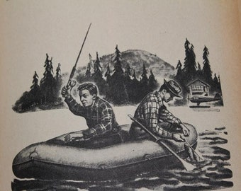 """Vintage 1952 Popular Science """"Secrets of Successful Fresh Water Fishing"""" Sports Angling Outdoors Book"""