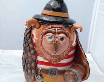 "Gustavo the pirate owl - First in the Fantasy ""pickled"" owl series"