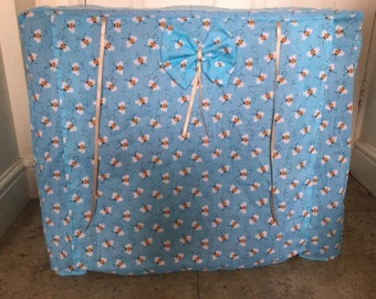 Made to measure dog crate cover / dog cage cover/ dog bed/ training crate/dog bed cover/