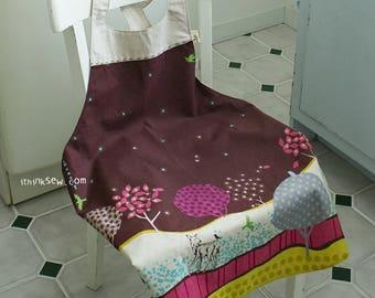 200 Woman's Apron PDF Sewing Pattern