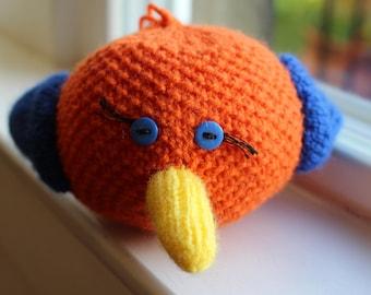 Bird Ball Knitting Pattern PDF Download