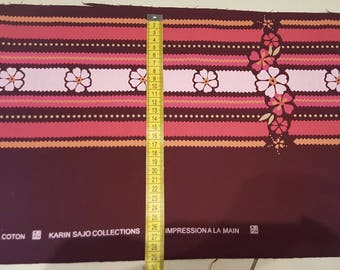 Fat quarter cotton Karin Sajo 215 × 25 cm