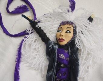 High Priestess Tarot Spirit Doll