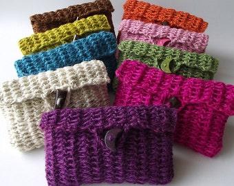 CROCHET BAG PATTERN Crochet Purse Summer Clutch Cosmetic Case Daiquiri Bag Pouch Bag Crochet Bag Pouch pdf pattern Instand Download