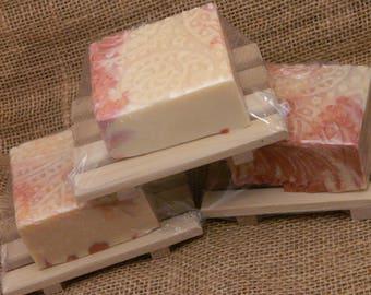 Champagne Pomegranate Goats Milk Soap Gift Set