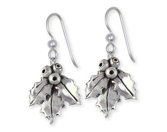 Sterling Silver Holly Earrings Jewelry HLY1-E