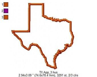 Texas State Applique