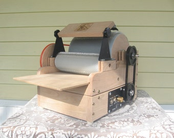 Fancy Kitty KITTEN 72/72 tpi Fiber Drum Carder with motorization kit and brush attachment