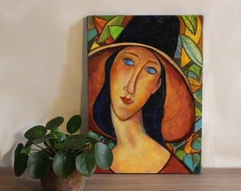 "Painting ""Julie"" (oil Pastels)"