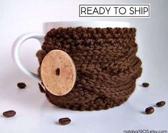 Coffee Cup Sleeve, Coffee Cup Cozy, Coffee Mug Cozy, Coffee Mug Sleeve, Tea Cozy, Coffee Cozy, Coffee Sleeve, Coffee Gifts, Hygge Decor