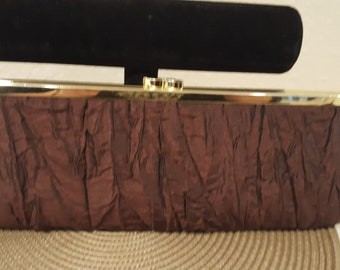 Beautiful Brown Evening Clutch