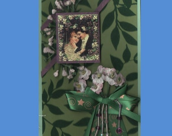 Embellished Thinking of You--Each Handmade Card is  Unique- Choose from 5 variations -Free Shipping in USA