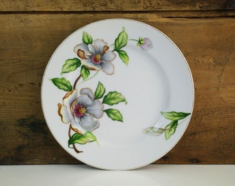 Dogwood Saucer for Footed Cream Soup Bowl from Roselyn China