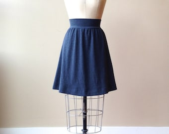 Jersey Skirt Color Choice, Cotton Jersey, Aline, modern minimal style- made to order