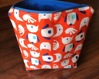 Planner Zippered Pouch (Dog & Cats) - ready to ship