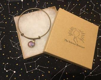 Nebula Double Sided Bangle Bracelet