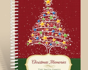 Christmas Notebook Personalized