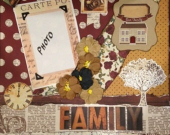 Scrapbooking Kit 3D - Family