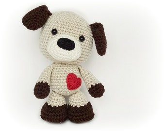 PATTERN - Sammy the Puppy (crochet, amigurumi) - in English