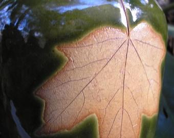 Sugar Maple Leaf Soap Dispenser Bottle