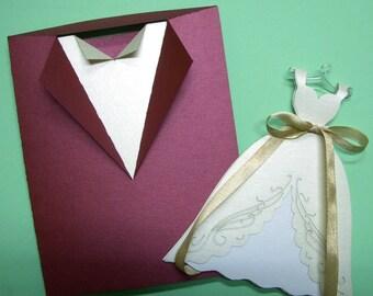 Bride&Groom Wedding Invitation