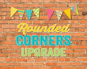 Rounded corners UPGRADE on 5x7 prints katiedid Designs