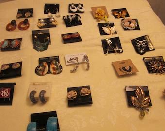 1960's to 1990's Costume Jewelry
