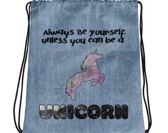 Werden Sie A Unicorn Kordelzug