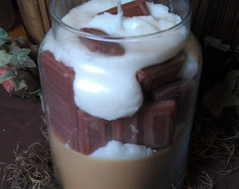 Death By Chocolate Soy Jar Candle
