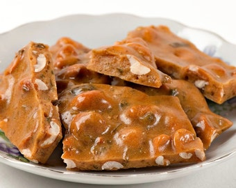 Spicy Jalapeno Peanut Brittle (1 pound) Gluten Free with a Dairy Free option!