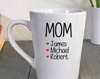 Mom Mug - Gift for Mom - Mom Coffee Mug - Mom Gift - Mothers Day Gift - Personalized Coffee Mugs