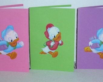 Set of five patterns Huey, Dewey, Louie pack 2