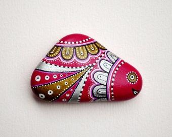I Sassi dell'Adriatico - Hand Painted Stone (Adriatic Sea) Fish